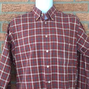 Burberry London Men's Plaid Button Down Shirt